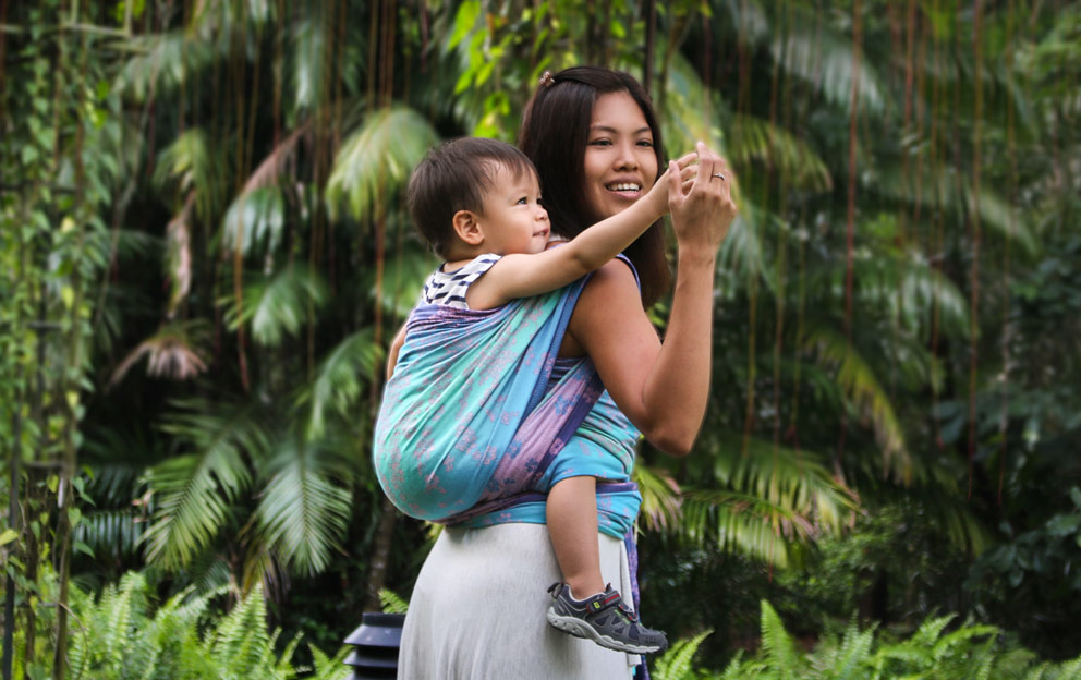 baby carriers in the heat tips