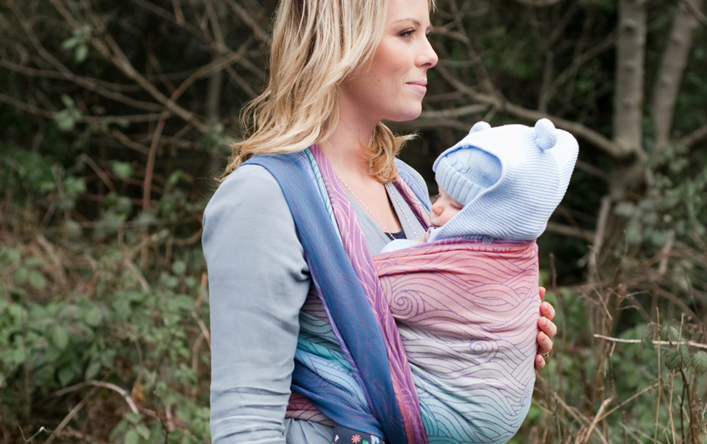 Rei Reflected Oscha baby wrap review