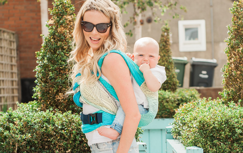 comfortable baby carrier from newborn, Oscha cairis carrier