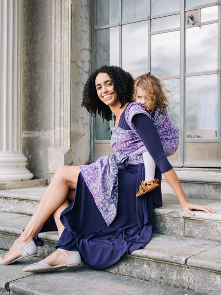Best woven baby slings for parties from Oscha