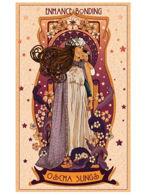 Art Nouveau Enhance Bonding Art Print