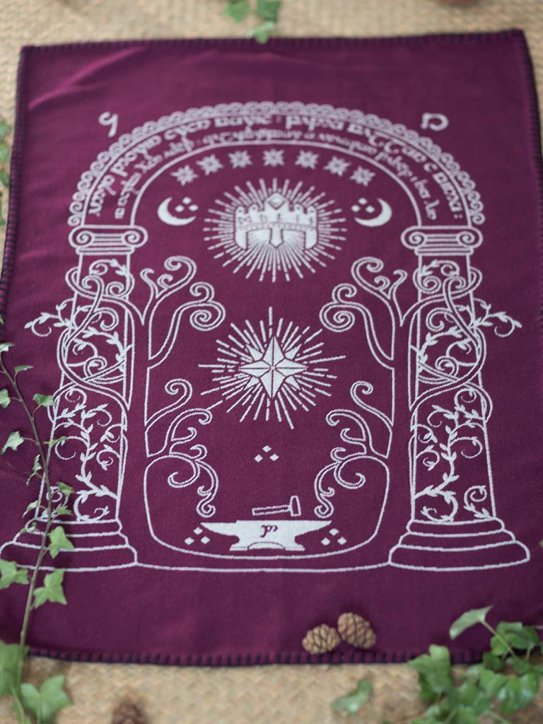 Doors of Durin Mĭrya Baby Blanket