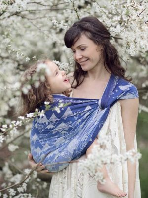 Misty Mountains Aduial Baby Wrap