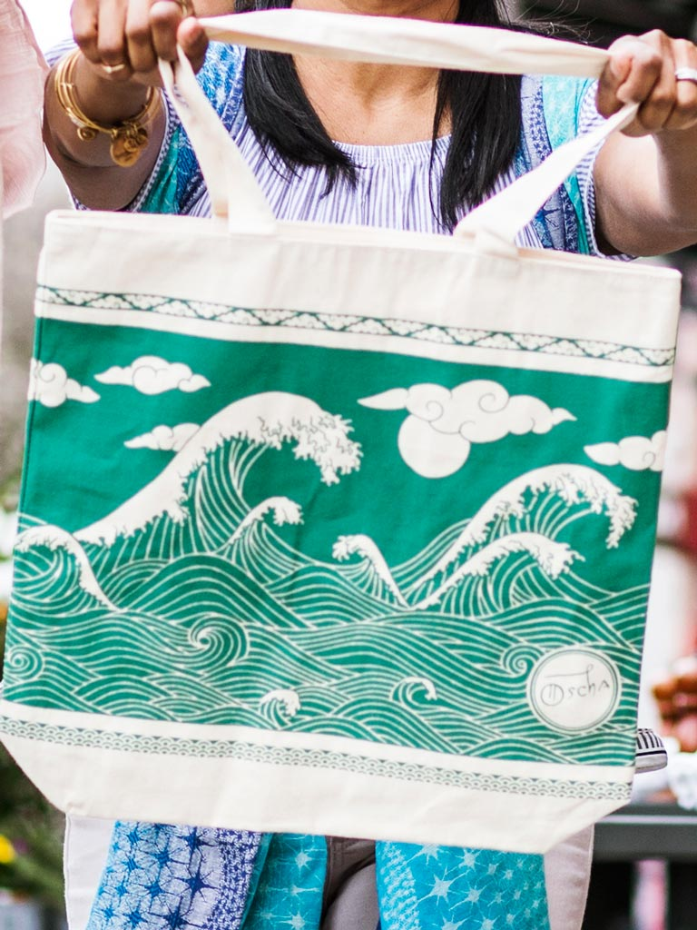 Okinami Viridian Eco Bag