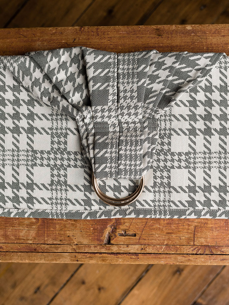 Plaid Zen Ring Sling