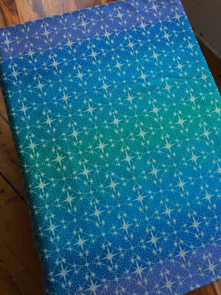 Silent Night Celestial 1m Fabric Pieces