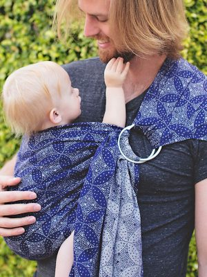 Starry Night Nebula Ring Sling