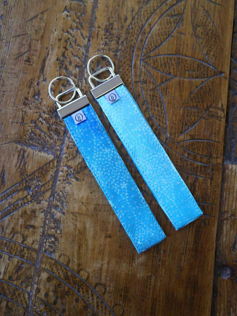 Starry Night Ocean Jacquard Keyring