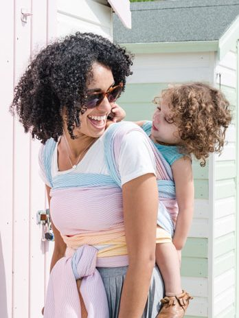 Choosing the Best Sling for Summer Carrying