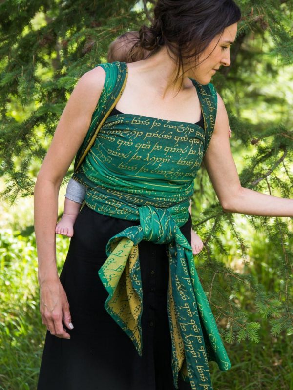 Legend of Frodo Bag End Baby Wrap Grade 2
