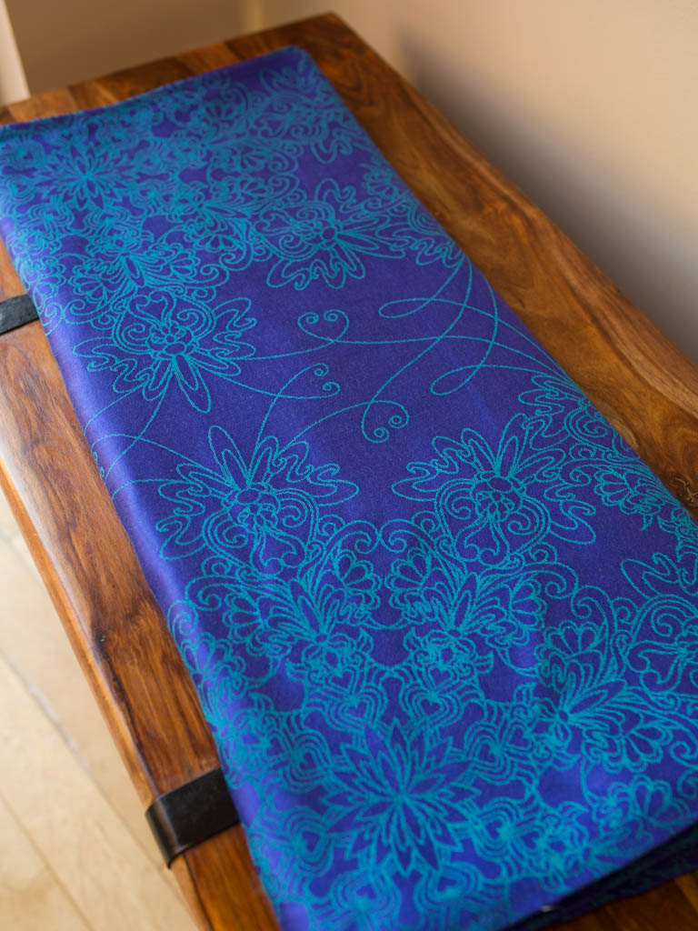 Lys Into the Blue Baby Wrap