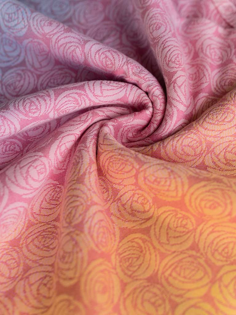 Roses Candyfloss Baby Wrap