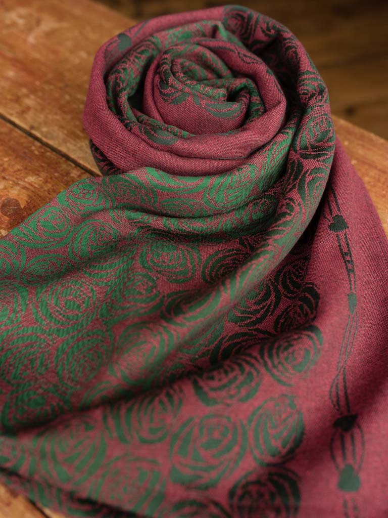 Roses Passion (Top Half) Scarf
