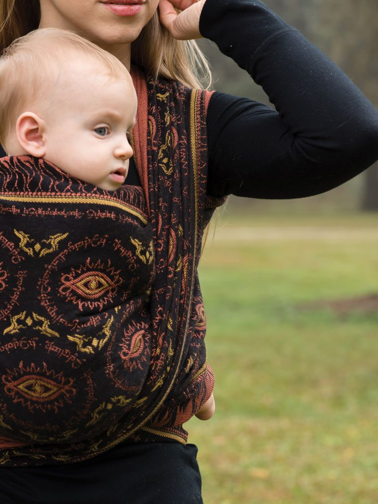 Eye of Sauron Searching Baby Wrap