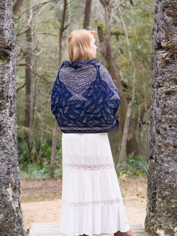 Wings of Protection Shawl