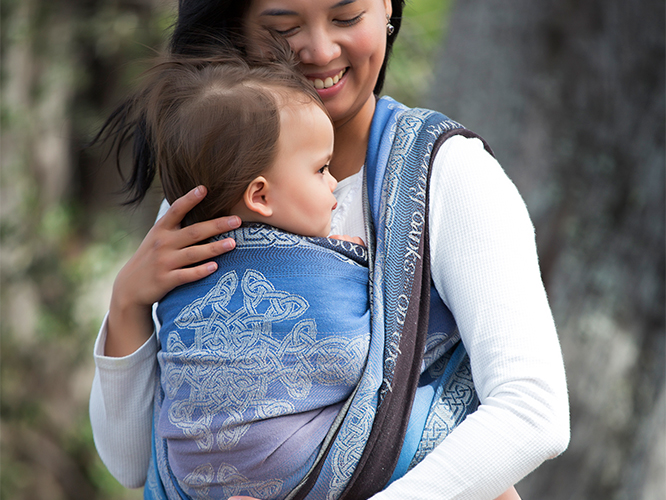 Caledonia Milford Sound Baby Wrap