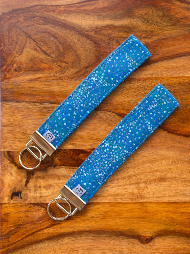 Orion Skirl Jacquard Keyring