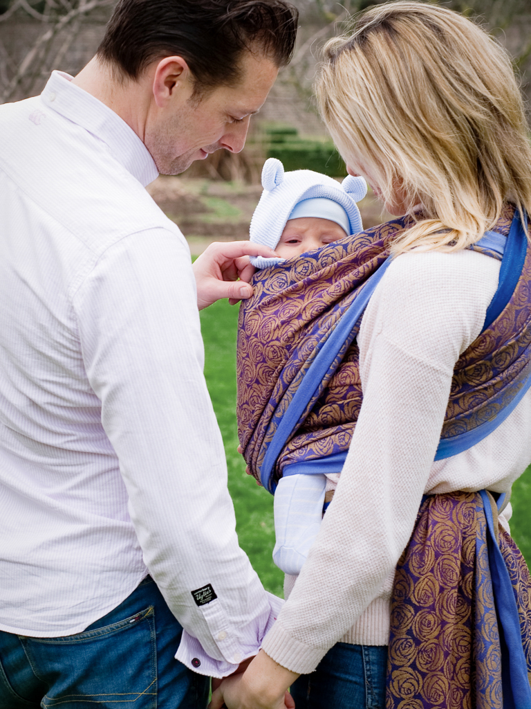 Roses Rian Baby Wrap