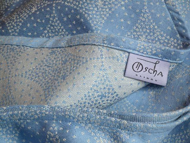 Starry Night Forget Me Not Baby Wrap