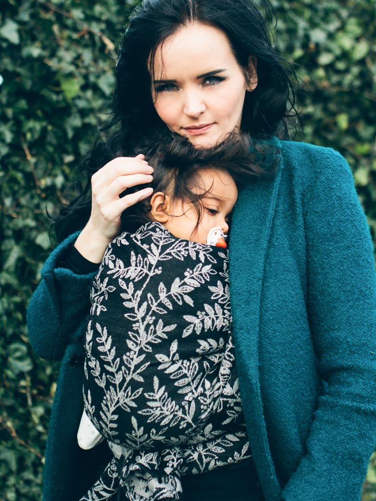 Willow Midnight Baby Wrap