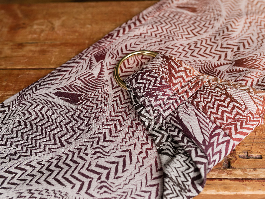 Zorro Fall with Lambswool Ring Sling