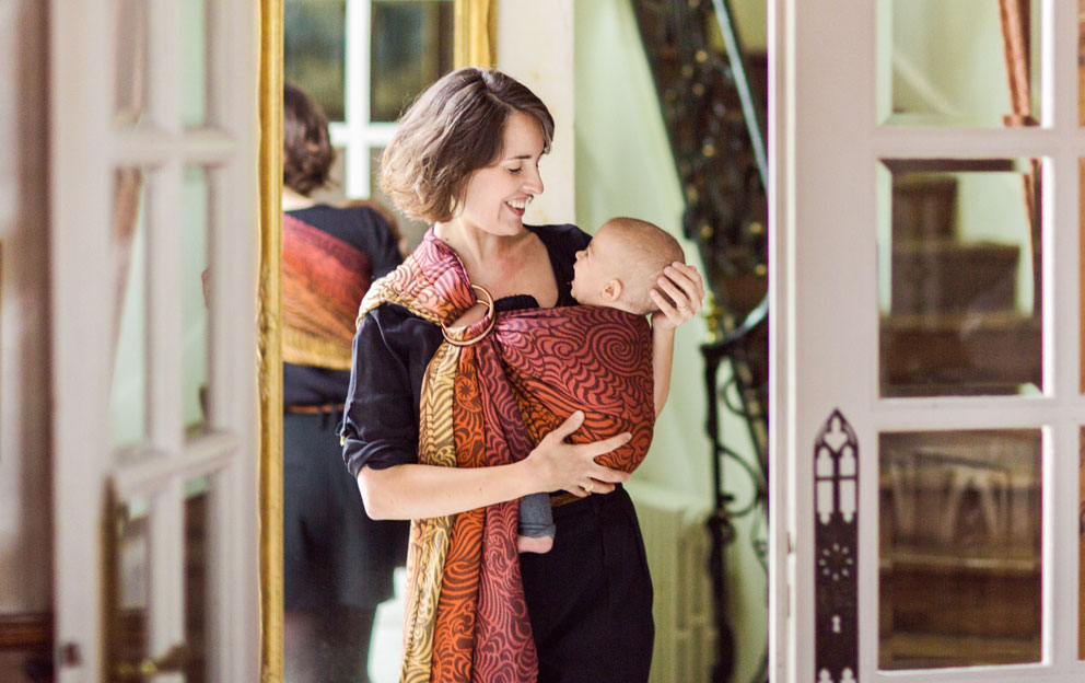 a933c9aac01 Pleated or Gathered shoulder ring sling – that is the Great Ring Sling  Debate. There s a reason that we make two kinds of shoulders  it s because  they are ...